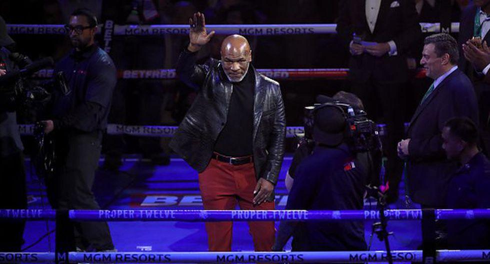 Mike Tyson ya tendría rival confirmado para su primer combate de exhibición. (Getty Images)