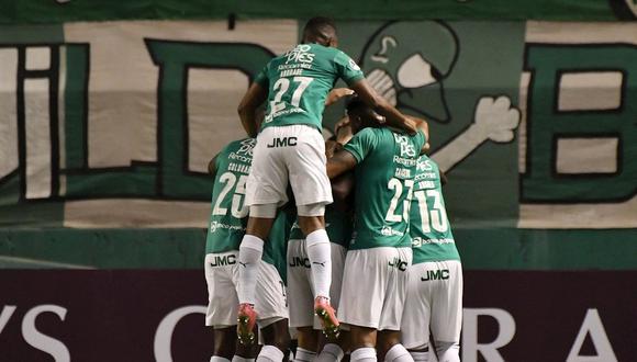 Deportivo Cali clasificó a los octavos de final de Copa Sudamericana luego de dejar en el camino a Millonarios. (Foto: EFE)