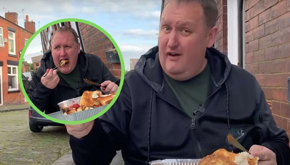 El video viral de un youtuber y su original reseña del pequeño negocio de venta de desayunos de una abuela del Reino Unido convirtió a este emprendimiento en un éxito internacional. | Crédito:  Rate My Takeaway / YouTube