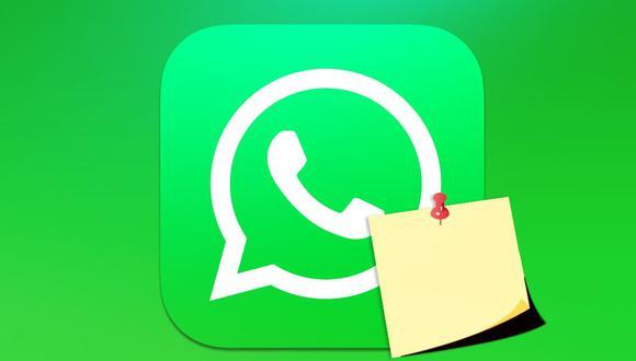 Mira el truco para convertir tu WhatsApp en una libreta de apuntes para anotar todo lo que se te antoje. (Foto: WhatsApp)