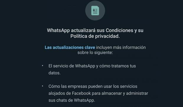 Read more about the features you will not be able to perform if you do not accept the new WhatsApp policy.  (Photo: MAG)
