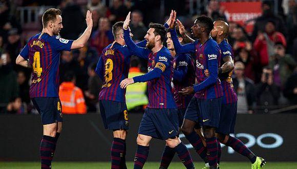 Barcelona está en los cuartos de final de la Copa del Rey. (Foto: Getty)