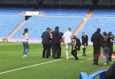 Fan número uno: la reverencia del padre de Reinier a su hijo tras pisar la cancha del Real Madrid [VIDEO]