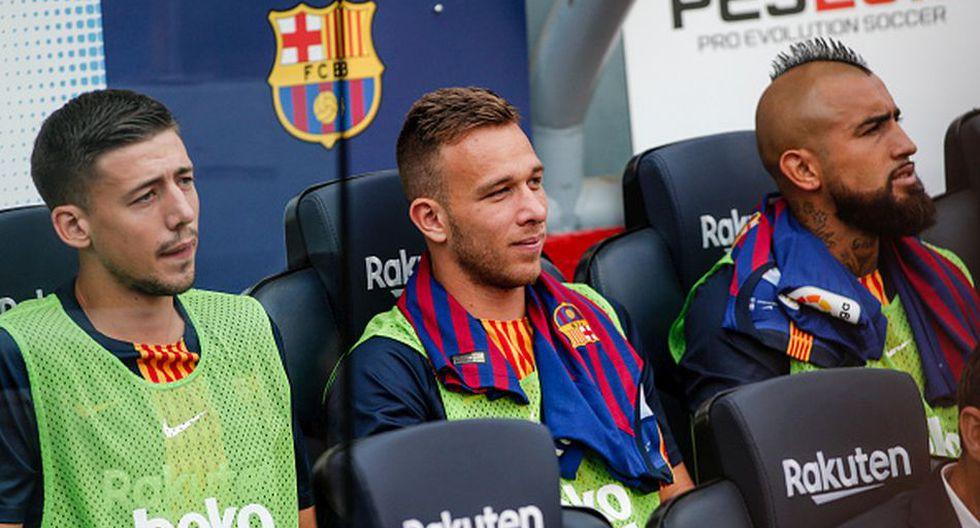 Arthur Melo llega a Barcelona procedente de Gremio. (Getty)