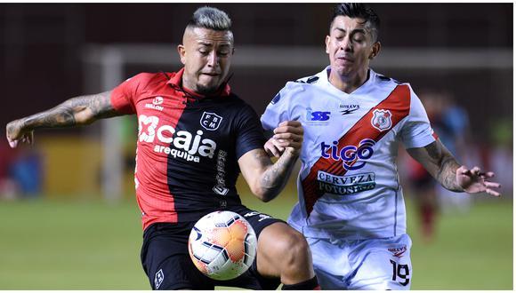 Paolo Fuentes habló sobre el pase de Melgar en la Copa Sudamericana. (Foto: Alan Mayta)