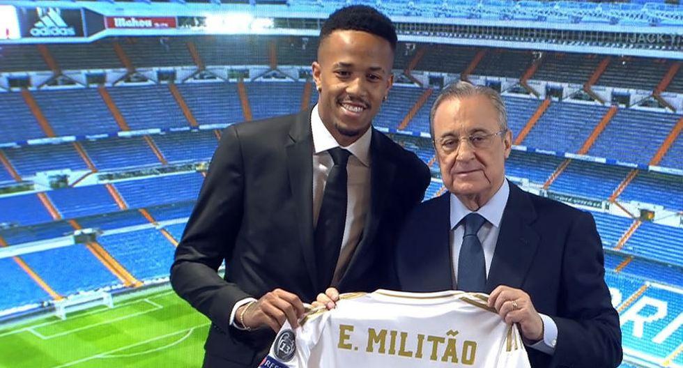 Eder Militao firma por el Real Madrid procedente del Porto por 50 ME. (Real Madrid TV)