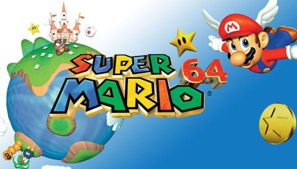 Super Mario 64 (Foto: Nintendo)