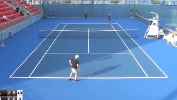 Este partido formó parte de las 'Qualy' del torneo. (Foto: Tenis al máximo)
