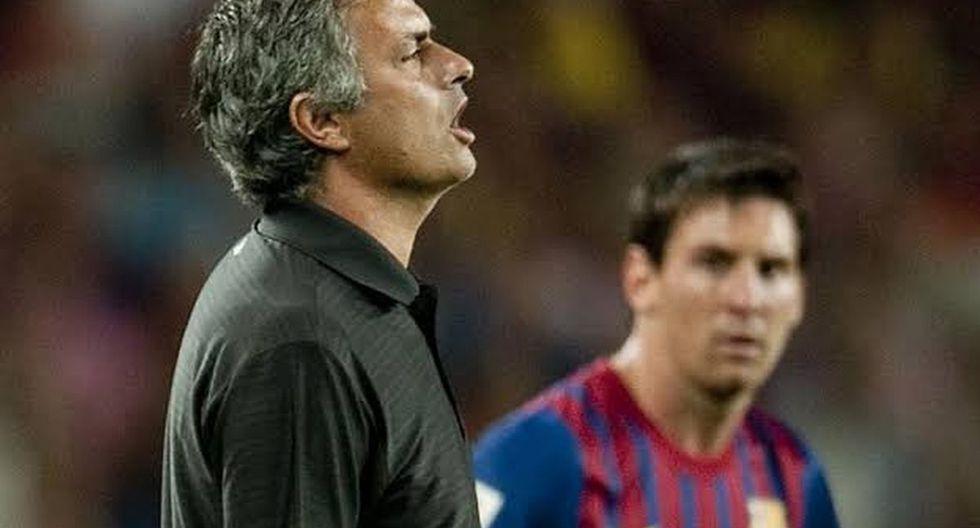 José Mourinho tiene pasado con los buzos del Barcelona y Real Madrid. (Foto: Getty)