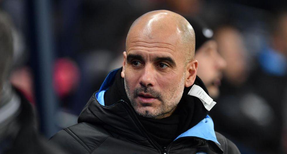 La respuesta de Pep Guardiola sobre la fiesta de los jugadores de Manchester City. (Foto: AFP)