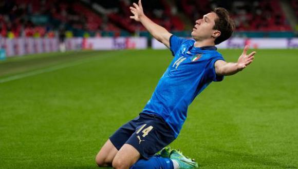 Federico Chiesa marcó un gol en el triunfo de Italia sobre Austria. (Foto: Getty Images)
