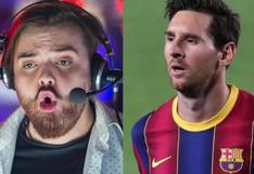 Lionel Messi se va del FC Barcelona e Ibai reaccionó así al comunicado del club