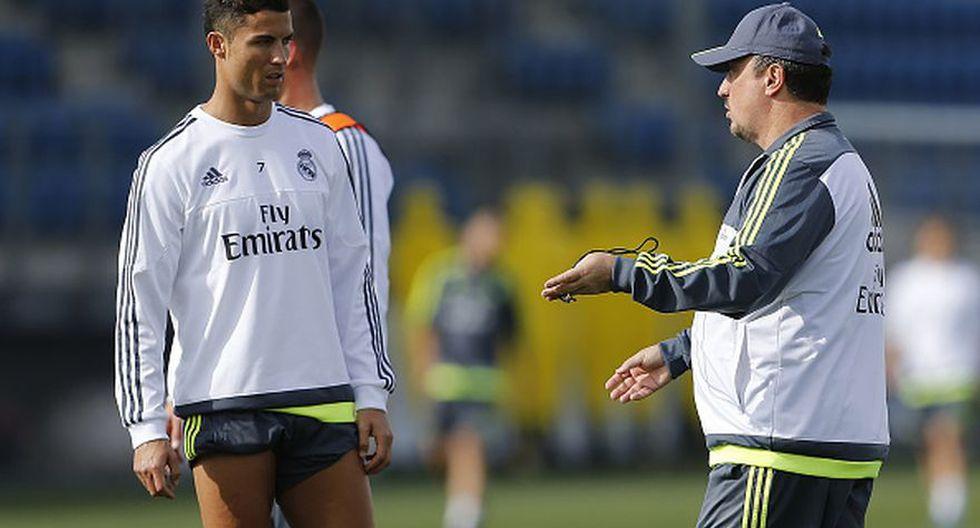 Cristiano Ronaldo, junto a otros seis jugadores del Real Madrid, no tenían una buena relación con 'Rafa' Benítez.