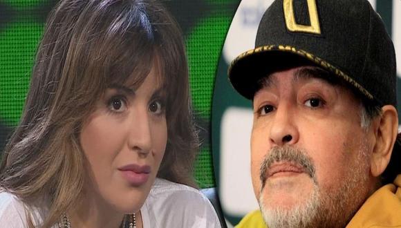 Gianinna es la menor hija del matrimonio de Claudia Villafañe y Diego Maradona. (Foto: AFP)
