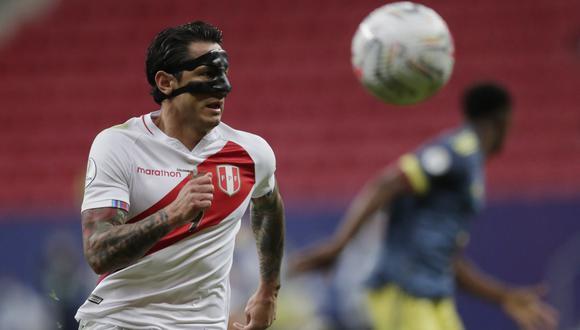 Gianluca Lapadula fue destacado por la organización de la Copa América. (Foto: REUTERS/Ueslei Marcelino)