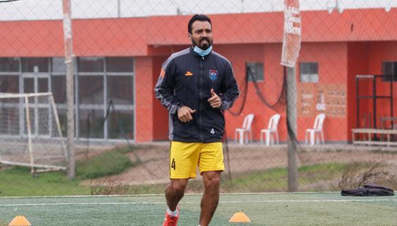 César Vallejo retornó a los entrenamientos este lunes, tras la cuarentena. (Foto: prensa Vallejo)