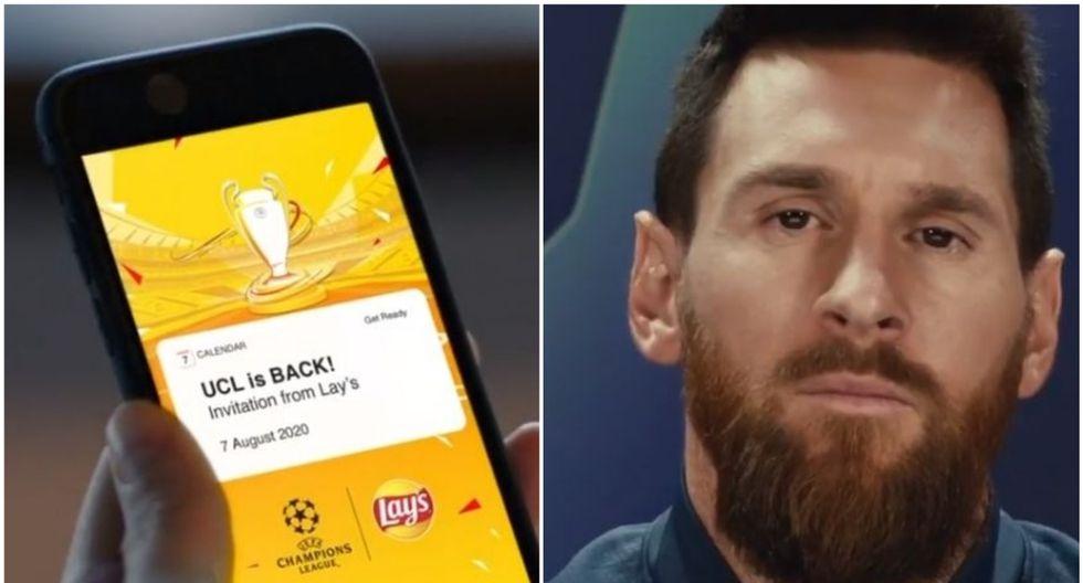 Champions League: Lionel Messi te invita a ver la reanudación del torneo de clubes desde el 7 de agosto. (Messi Instagram)