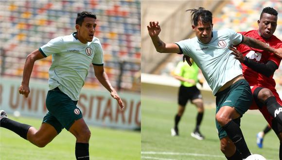 Alex Valera y Enzo Gutiérrez, las alternativas de doble '9' de Ángel Comizzo. (Foto: Collage / Prensa U)
