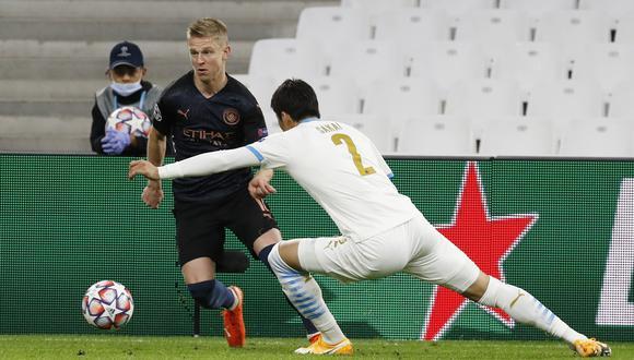 Oleksandr Zinchenko contó todo lo que vivió antes de llegar a la final de Champions League. (Foto: Reuters)