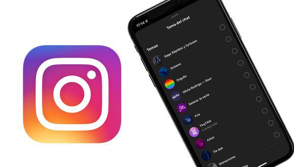 De esta forma podrás cambiar el color de tus conversaciones de Instagram. (Foto: Depor)