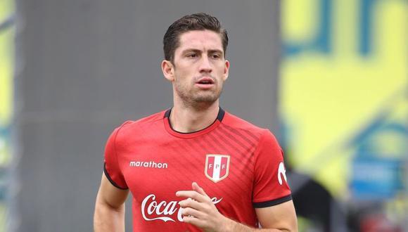 Santiago Ormeño fue la novedad en los entrenamientos de la Selección Peruana (Foto: FPF)