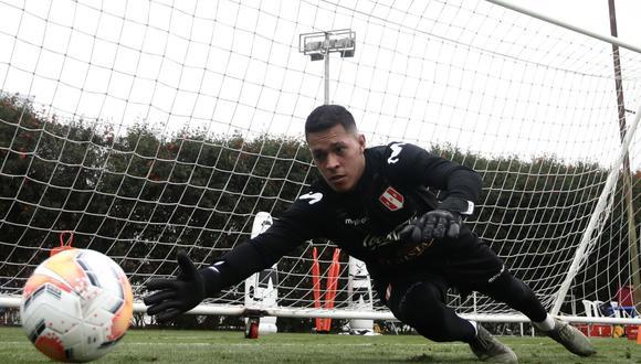 Renato Solís formó parte de los dos microciclos de la Selección Peruana. (Foto: FPF)