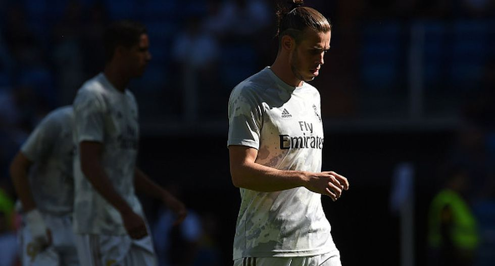 Gareth Bale podría marcharse en enero del Real Madrid, probablemente a China. (Getty Images)