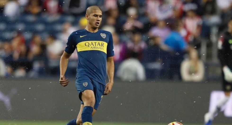Santiago Ramos Mingo tiene 18 años y juega en Boca Juniors. (Getty)