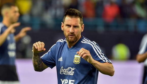 Lionel Messi fue criticado por Thiago Silva, capitán de la selección brasileña. (Foto: GEC)