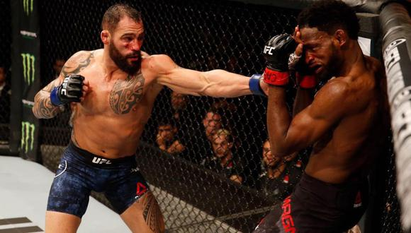 Santiago Ponzinibbio volverá a UFC tras más de dos años de ausencia en el Fight Island en enero. (UFC)