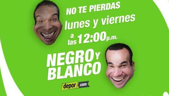 Sigue el programa de 'Negro y Blanco' de este lunes.
