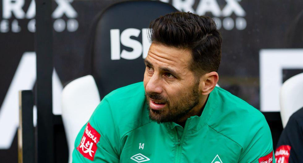 Claudio Pizarro registra 197 goles en la Bundesliga. (Foto:Getty Images)