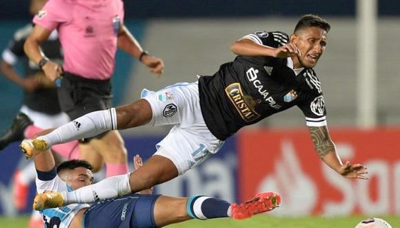 Sporting Cristal vs. racing Club por la Copa Libertadores (Foto: CONMEBOL)