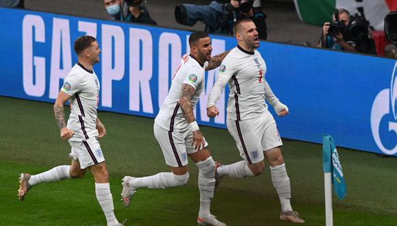 Inglaterra perdió ante Italia en la tanda de penales en el partido final de la Eurocopa. (Foto: AFP)