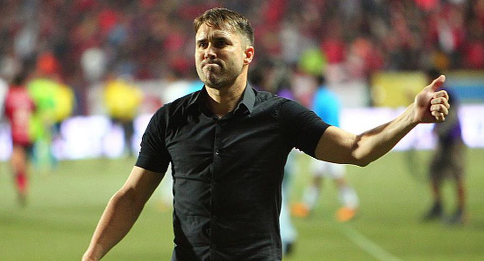Entrenó a Rosario Central entre 2015 y 2017 (Getty Images).