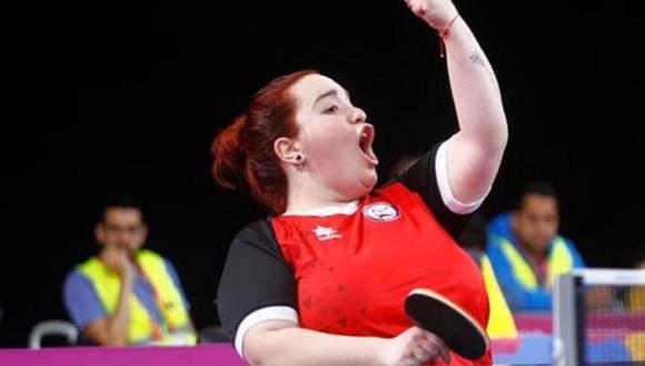 Tamara Leonelli ganó la medalla de oro en paratenis de mesa en los Juegos Parapanamericanos 2019. (Lima 2019)