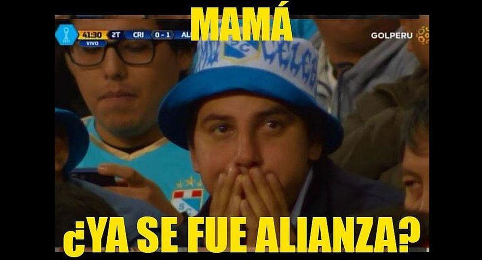 Los divertidos memes tras la victoria de Alianza Lima frente a Sporting Cristal en Matute. (Internet)