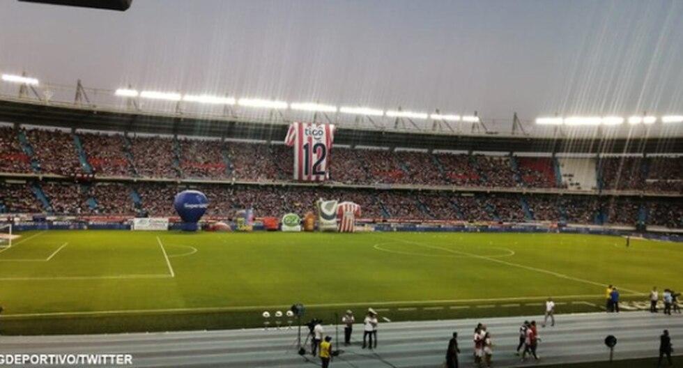 El ambiente la final de Liga Águila de Junior y América de Cali. (Foto: Agencias)