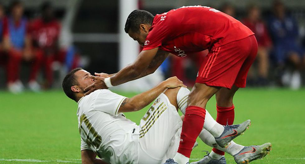 Real Madrid cayó 3-1 ante Bayern Munich por la International Champions Cup 2019