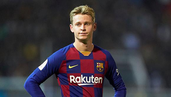 Frenkie de Jong firmó un contrato en Barcelona hasta el año 2024. (Foto: Getty Images)