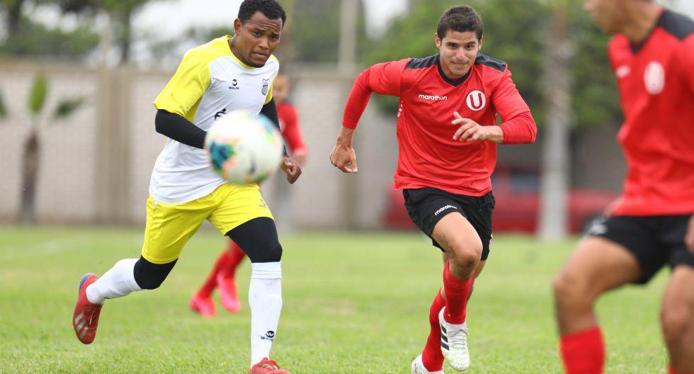 Universitario jugó con Atlético Grau un duelo amistoso. (Foto: Prensa 'U')