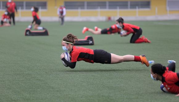 Un grupo de seleccionadas de Rugby volvieron a la moderna sede que administra el Legado. (Difusión)
