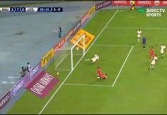 Con el arco sin portero: Velásquez tuvo el 3-0 pero envió el balón al palo en Sport Huancayo vs. UTC [VIDEO]