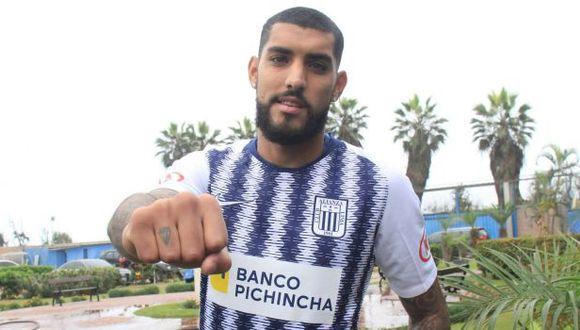 Adrián Balboa tiene un gol con camiseta de Alianza Lima. (Foto: Alianza Lima)