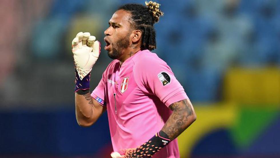 Pedro Gallese. (Foto: AFP)
