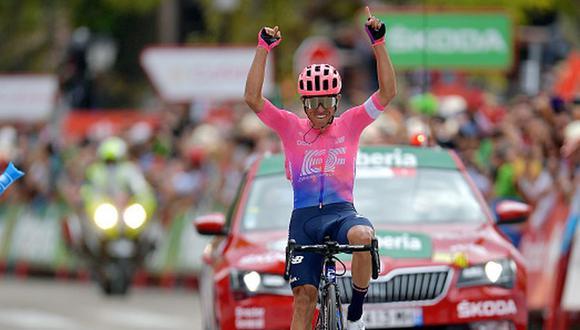 Victoria del colombiano Sergio Higuita en la Vuelta a España 2019. (Getty Images)