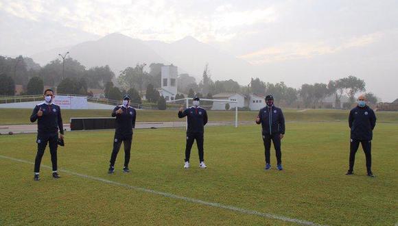 Deportivo Municipal arrancó los entrenamientos en Huampaní. (Foto: Prensa Municipal)