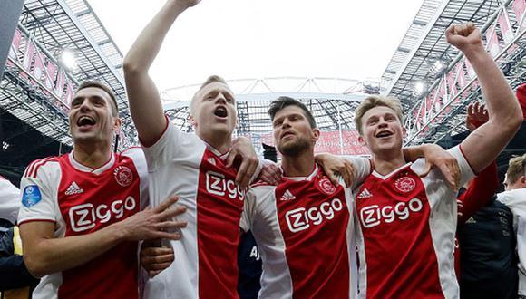 ¿Por qué el Ajax no jugará fase de grupos de la Champions League? (Getty)