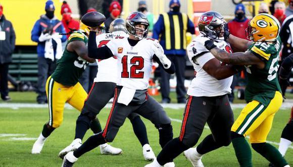 Los Buccaneers derrotaron a los Packers y consiguen su boleto al Super Bowl LV. (NFL)