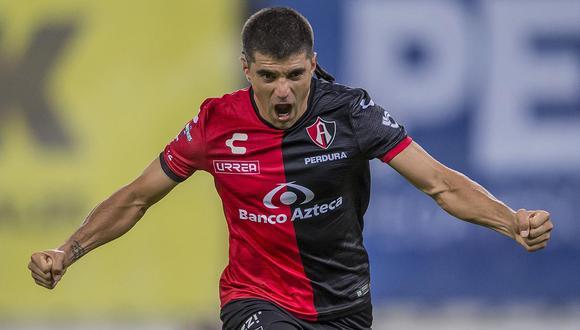 Victor Malcorra anotó su tercer gol con la camiseta de los 'Zorros'.
